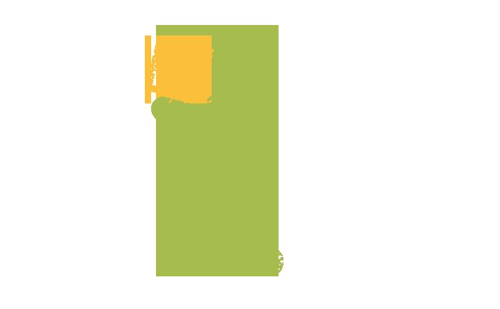 Pictogramme qui représente une personne transportant un carré jaune
