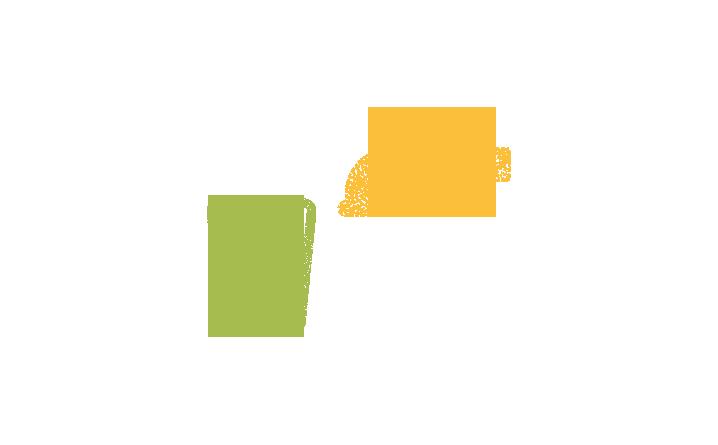 Pictogramme qui représente un robinet et un verre rempli d'un liquide