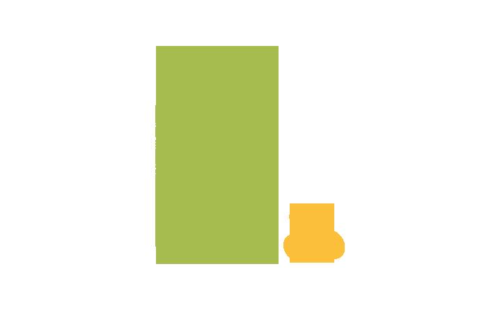 Pictogramme qui représente un bocal contenant des aliments, et à côté de celui-ci, ces mêmes aliments